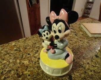 Vintage Walt Disney Character Minnie Music Box