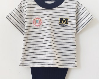 deadstock university of michigan set size 3t nwt