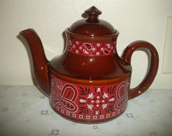 Bandana Teapot Japan Excellent!