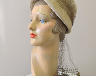1960s Wool Fur Felt Hat