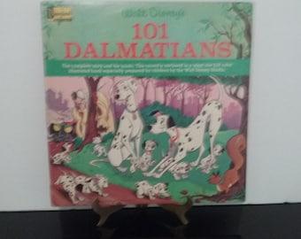 Walt Disney - 101 Dalmatians - Full Color Illustrated Book - Circa 1963