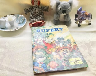Vintage Rupert the bear Annual 1973, childrens book, A Daily Express publication, good condition