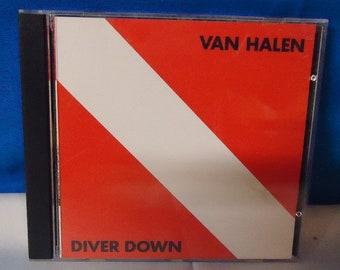 "043018 07 Used Van Halen ""Diver Down"" CD Warner Bros 3677-2"