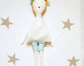 "Ginette Corfu. ""Les Ginettes"" rag doll. A Rag Dolls Collection"