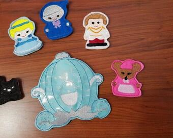 Cinderella, Disney,Finger Puppet Set