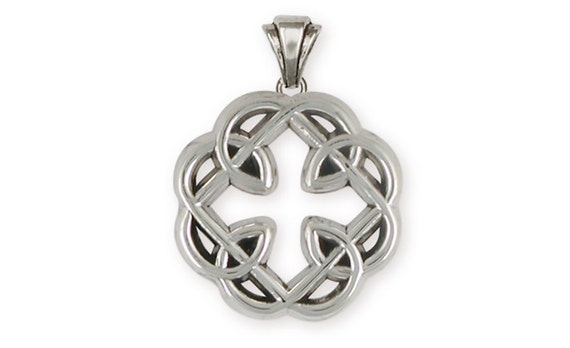 tw diamond in sterling ct v knot view celtic p pendant w t silver
