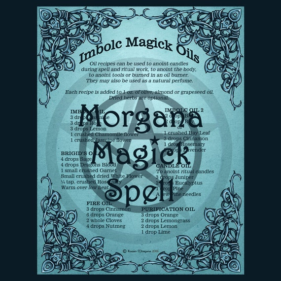 Imbolc Magick Oils