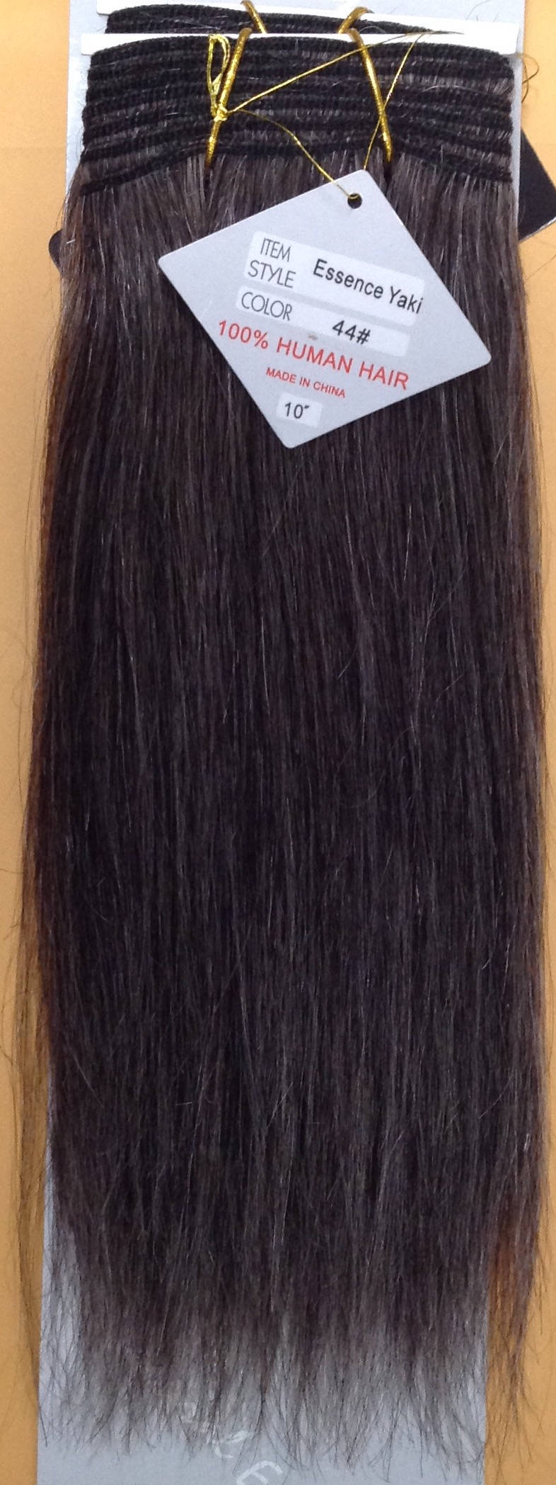 Salt And Pepper 100 Human Weave Hair Extension Straight Track Grey