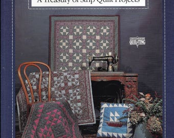 Fast Patch Quilt Pattern Book - A Treasury of Strip Quilt Projects