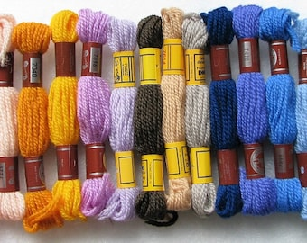 100 Skein Lot DMC Wool Needlepoint/Crewel Yarn #299