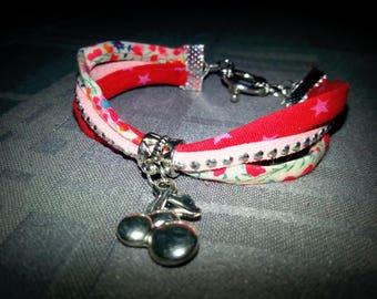 Cherry liberty bracelet