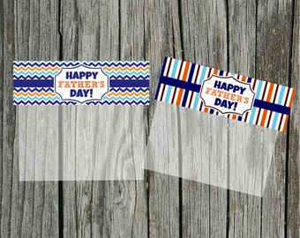 INSTANT Download FATHERS Day Goodie Treat Bag Topper  PRINTABLE Download - Fun Family Party diy