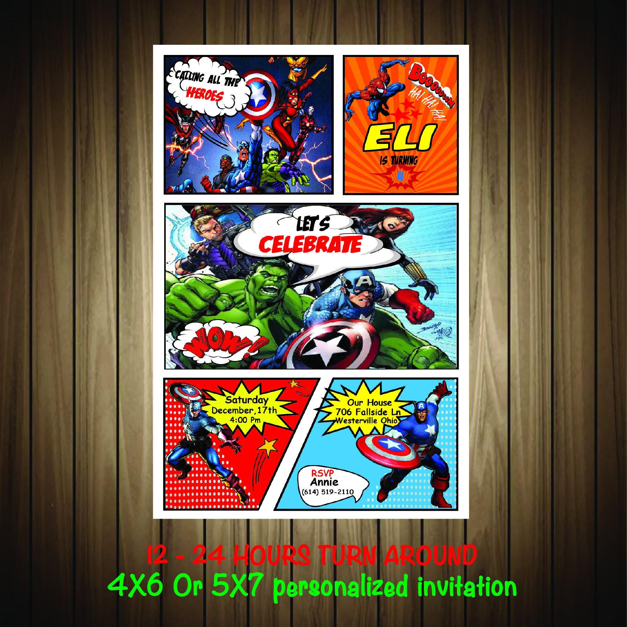 Großzügig Kostenlose Superhelden Einladungsvorlage Ideen - Beispiel ...
