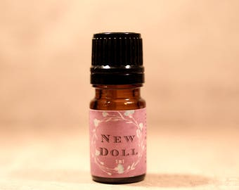 NEW DOLL™ Artisan Perfume Oil, New Doll Fragrance, Handmade Artisan Perfume Oil, Conceptual Perfume