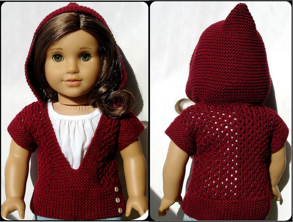Beautiful Knit Hooded Sweater Pattern Image Collection - Blanket ...