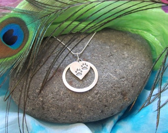 """D.  Kirkup Designs Sterling Silver """"Infinity Pet Necklace"""""""