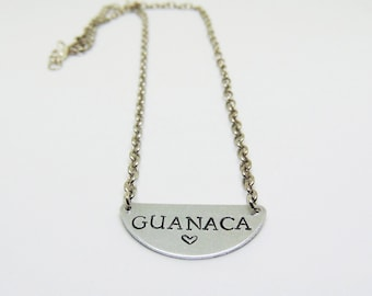 Guanaca Necklace (El Salvador necklace, latinx)