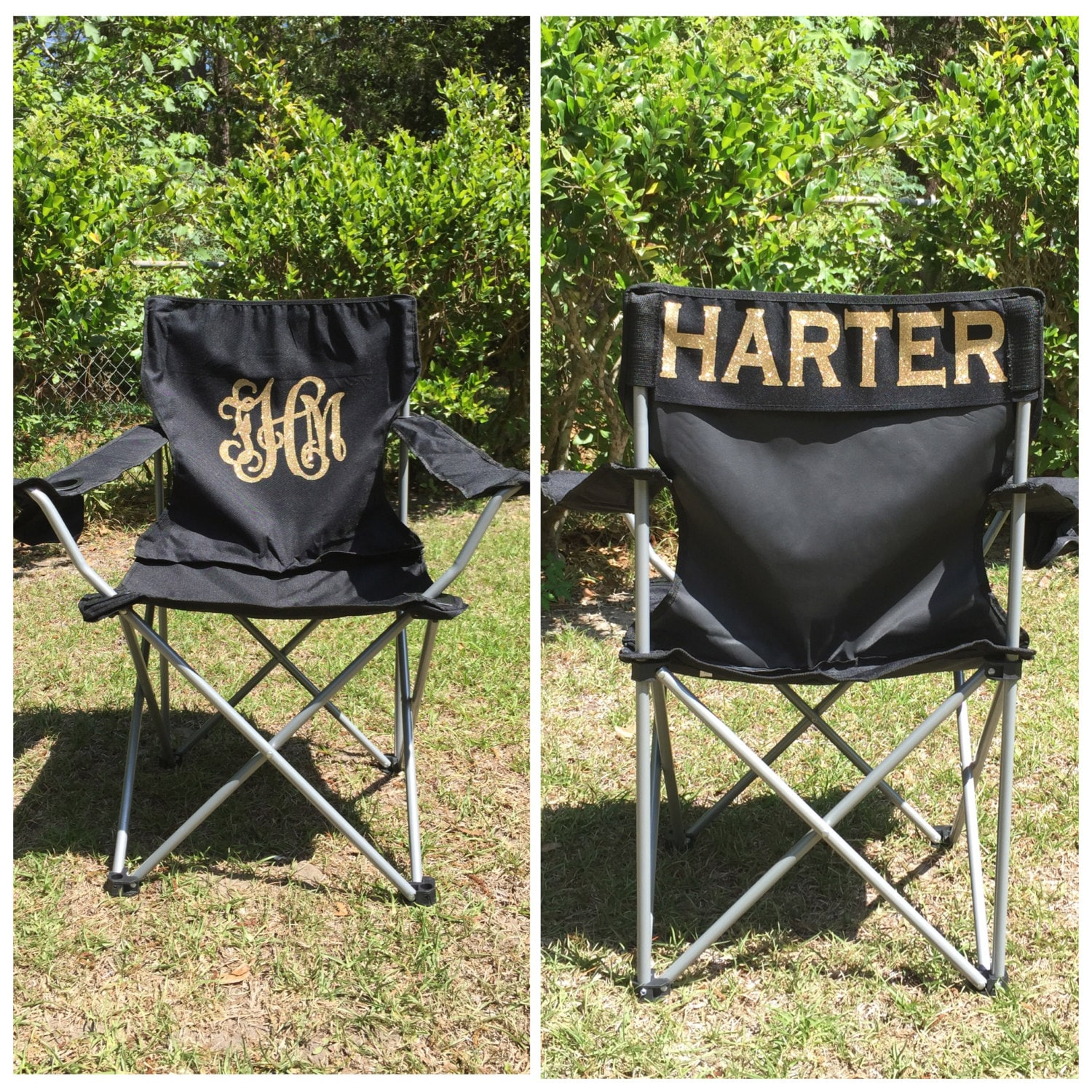 personalized beach chairs. Monogrammed Camp Chair, Beach Personalized Folding Sports Mom Coach\u0027s Chair Chairs A