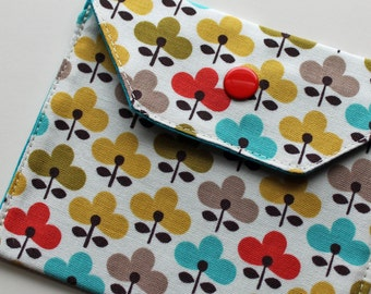 Snappy Card Holder - Flowers - New Fabric