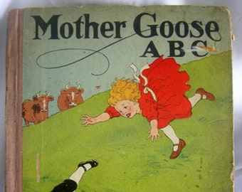 Mother Goose ABC Series Number 120 | M A McDonohue | Vintage 1920-1930