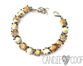 Champagne Dreams Crystal Bracelet kit = DIY Jewelry