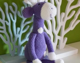Amigurumi Giraffe - Crochet Giraffe, Crochet Amigurumi Plush, Crochet Toy, Amigurumi Animal
