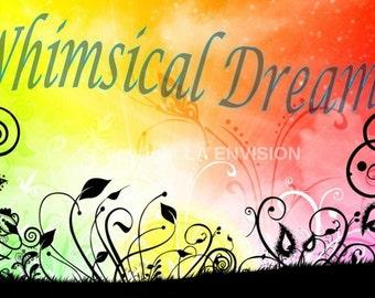 Whimsical Dreams Digital Wall Art