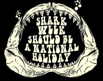 Shark Week/National Holiday