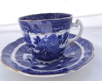 Clifton Porcelain Tea Cup & saucer from 1830'3
