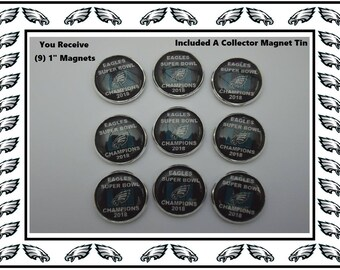 Philadelphia Eagles frig Magnets Eagles Collector Hold Photos Notes Appointments On Frig Sweet Christmas Stocking Stuffer Eagles Push Pins