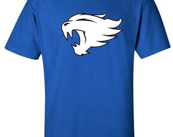 University of Kentucky Wildcat - Adult Unisex Tshirt - Choice of 2 Vinyl Colors