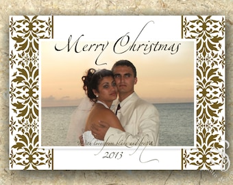 Christmas Photo Card DIY