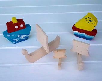 Wooden Toys - Viking ship