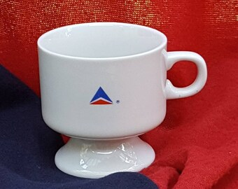 Delta Airlines Footed Cups First Class