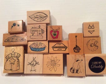 Miscellaneous Rubber Stamps