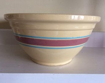 "Vintage McCoy 12"" Mixing Bowl"