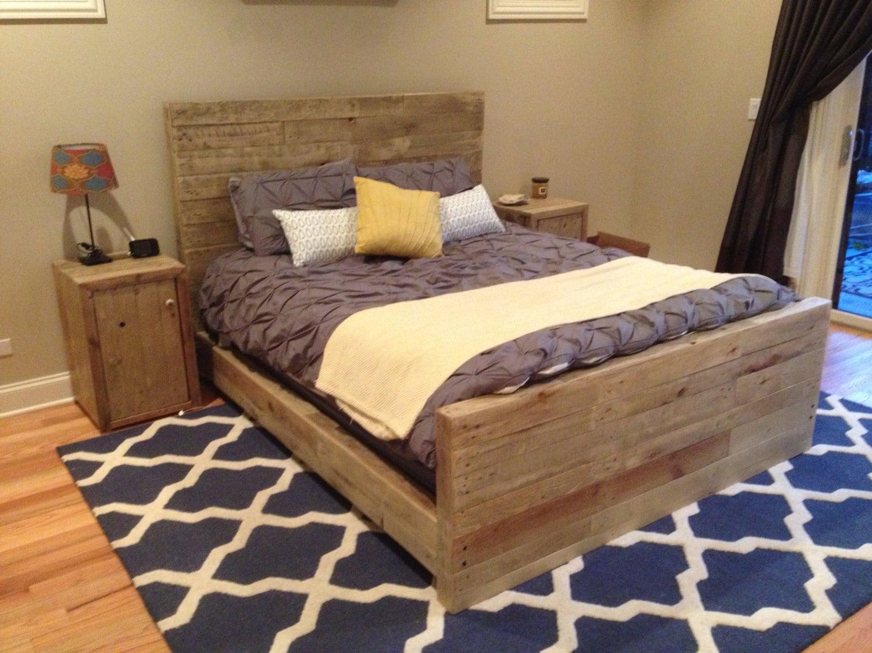 zoom - Wooden Queen Bed Frame