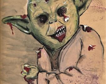 Yoda Art - Star Wars