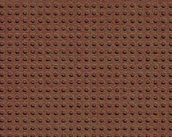 Paper perforated embroidery Brown - 15 x 15 cm