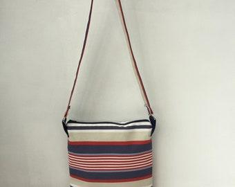 Deck Chair Stripe Shoulder Bag