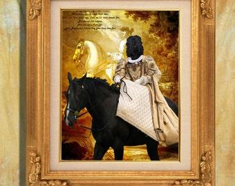 Black Russian Terrier Print Art Print 11 x 14 inch original illustration artwork giclee archival premium poster print