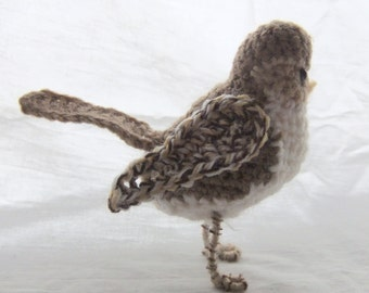 Female House Sparrow Crochet Pattern PDF