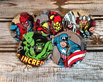 Super Heroes- Set of 5