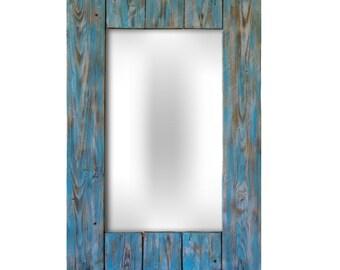 Bathroom mirror Blue Bell with a shelf