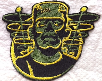 RETRO FRANKENSTEIN Iron on Patch Applique - 2 sizes Available