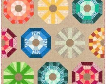 Sea urchins  by Elizabeth Hartman - Paper Printed Pattern