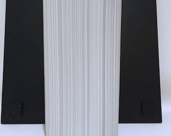 Naaman artline Israel Vase Bisque Porcelain White Modernist vase
