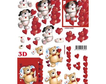 Dog and bear receive LS4169805 letter