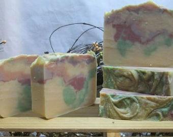 Goat Milk Soap, Autumn scent, fall scent, gift for him, soap for guys, Moeggenborg Sugar Bush, handmade soap, artisan soap,