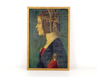 Art Print of Leonardo's Lady Beatrice D'Este